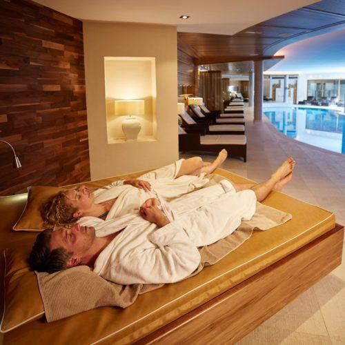 Exklusiver Spa im Hotel Auriga