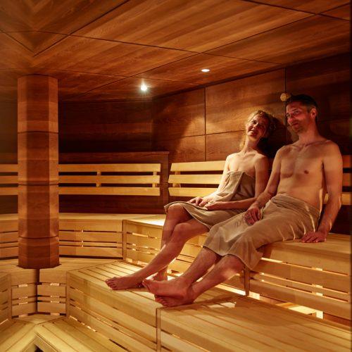 Finnische Sauna im Auriga-Spa